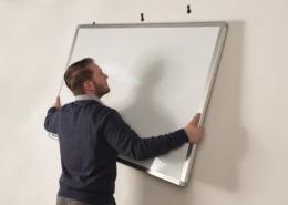 آموزش نحوه نصب تخته وایت برد روی دیوار