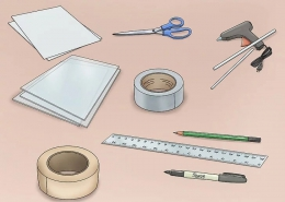 آموزش و نحوه ساخت تخته وایت برد با مواد بازیافتی