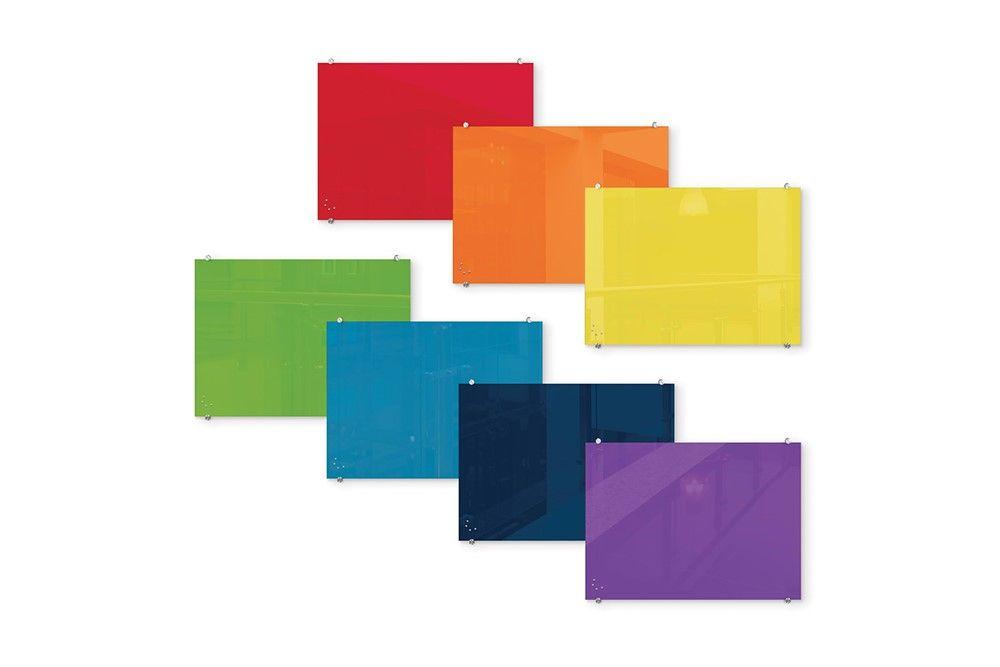 نحوه ساخت وایت برد شیشه ای مغناطیسی رنگی